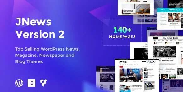 WordPress强大新闻/杂志主题JNews v7.1.8[已激活版]免费下载
